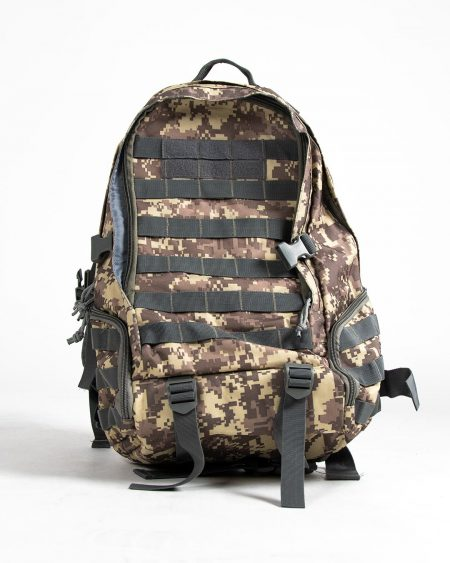 Tactical backpack - digital camouflage