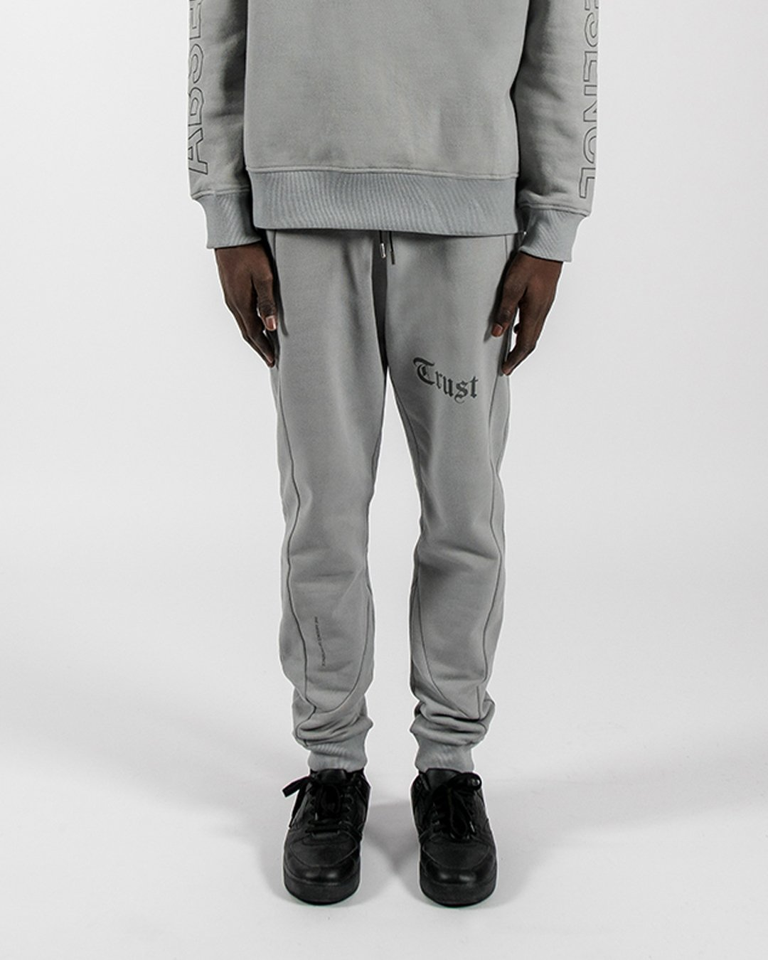 Grey reflective pants cover TRUST Amsterdam