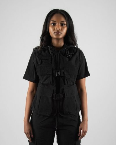 TACTICAL JACKET CRINKLE WITH CAP UNISEX